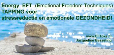 Trainingsdag Energy EFT tapping op 28 september en 2 november in Delft