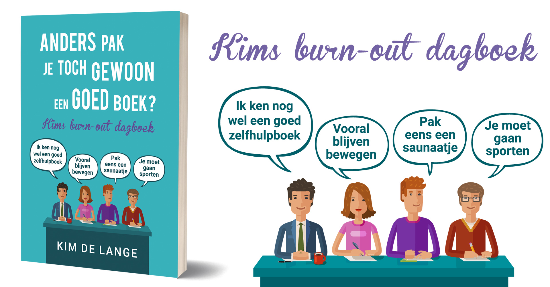 Kim, De Bridget Jones van de burn-out
